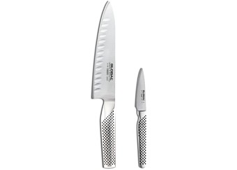 Global Classic 2-Piece Chef's Knife Set