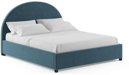 Arch King Gaslift Bed Frame Peacock Teal Peacock Teal
