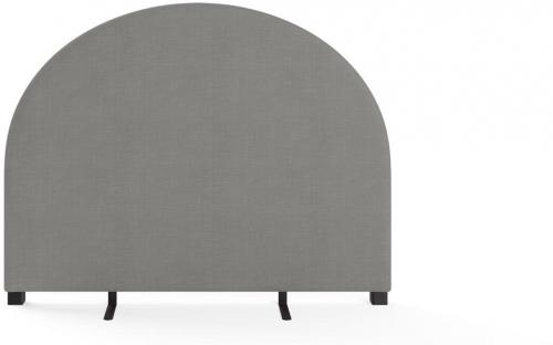 Arch Queen Size Bed Head Stone Grey