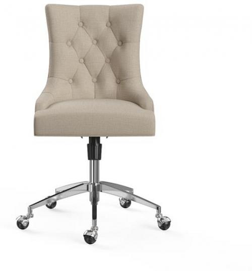 Espen Office Chair French Beige Silver