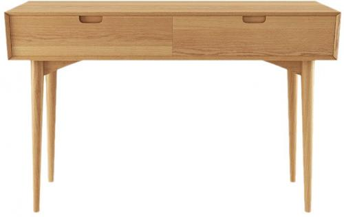 Mia Console Table with Drawers Scandi Oak Wood