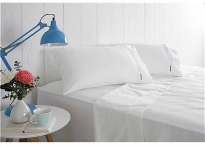 Odyssey Living 1000TC Cotton Rich King Sheet Set White