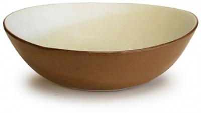Salt & Pepper Nomad Bowl Natural & Rust 20X6.5cm