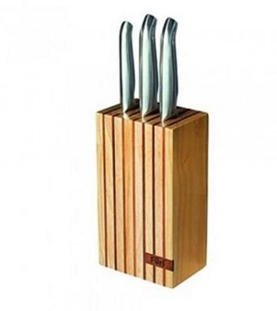 Füri Pro Wood Knife Block Set 4pc
