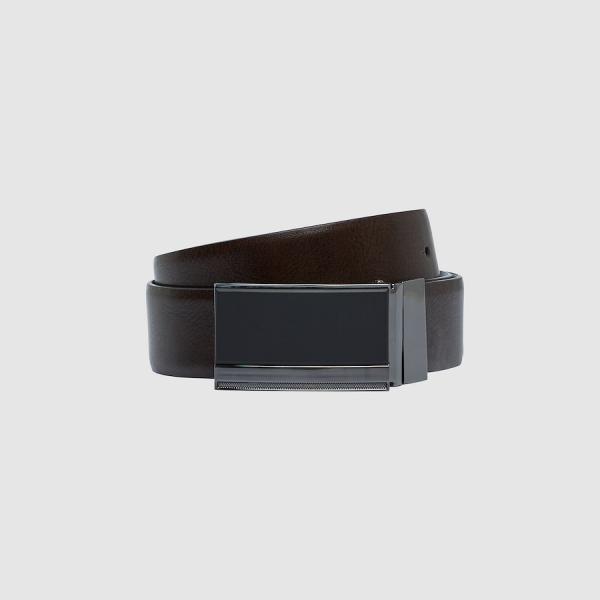 Tarocash Kingsman Reversible Belt Black/Choc 42