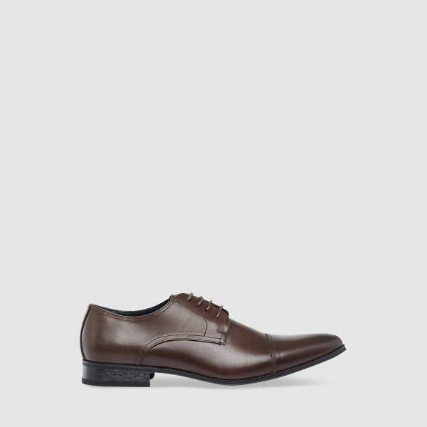Tarocash West Side Dress Shoe Chocolate 12