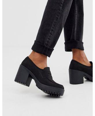 ASOS DESIGN Stockton chunky loafers in black