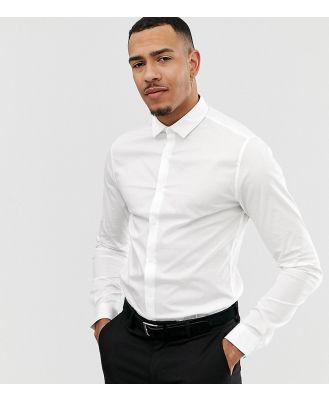 ASOS DESIGN Tall skinny fit shirt in white