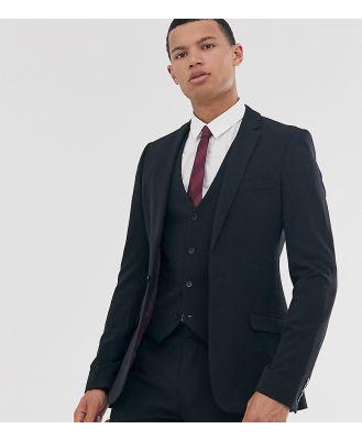ASOS DESIGN Tall super skinny fit suit jacket in black