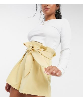 4th + Reckless Petite tailored short co-ord in yellow