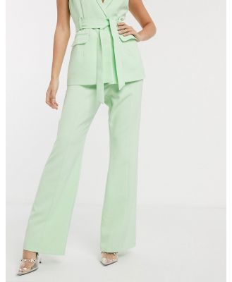 4th + Reckless tailored pant in mint-Green