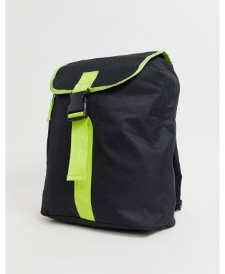 SVNX backpack with neon detail-Black