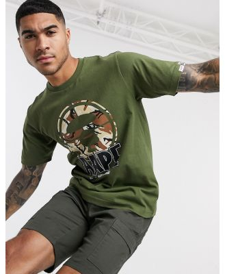 AAPE By A Bathing Ape AAPE Hunting t-shirt in green