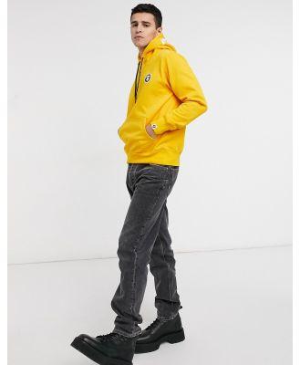 AAPE By A Bathing Ape french fleece hoodie in yellow
