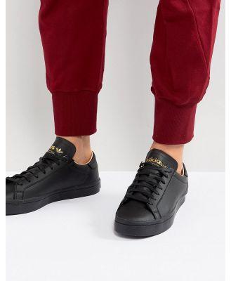 adidas Originals Court Vantage Sneakers In Black CQ2562