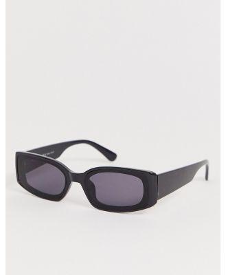 AJ Morgan square sunglasses in black