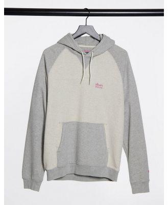Albam Utility raglan hoodie in grey