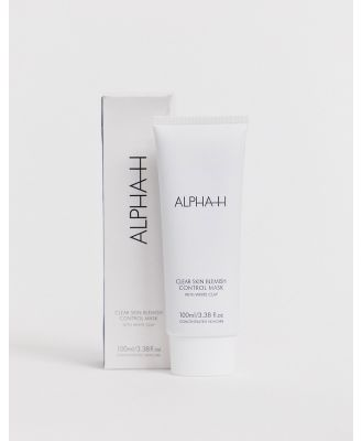 ALPHA-H Clear Skin Blemish Control Mask with White Clay and Aloe Vera 100ml-No colour