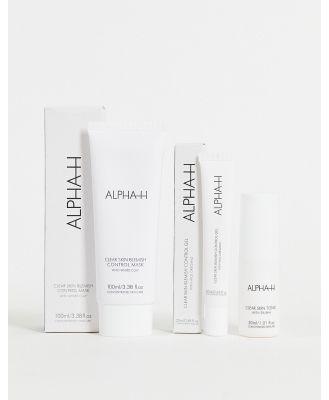 ALPHA-H Clear Skin Emergency Kit (save 30%)-No colour