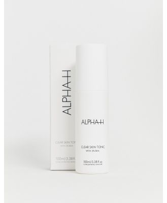ALPHA-H Clear Skin Tonic with 2% Salicylic Acid 100ml-No Colour