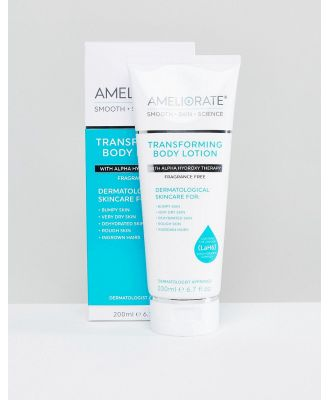 Ameliorate Transforming Body Lotion Fragrance Free 200ml-No Colour