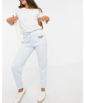American Eagle jogger in powder blue
