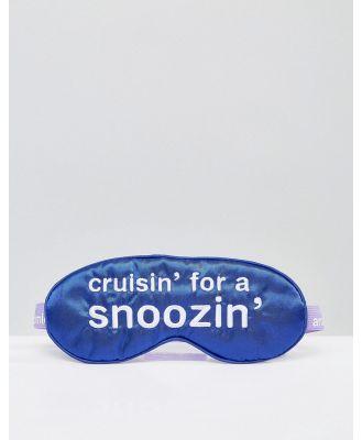 Anatomicals Cruisin' For A Snoozin' Sleep Mask-No Colour