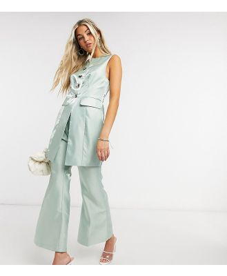 Annorlunda flare pants co-ord-Green