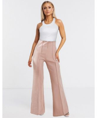 AQAQ tailored pants In light pink