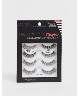 Ardell Faux Mink Lashes Demi Wispies Multipack (x4)-Black