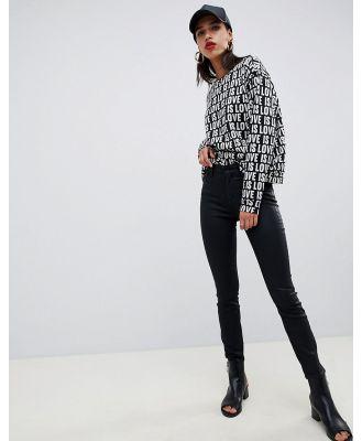 Armani Exchange skinny jeans - Black