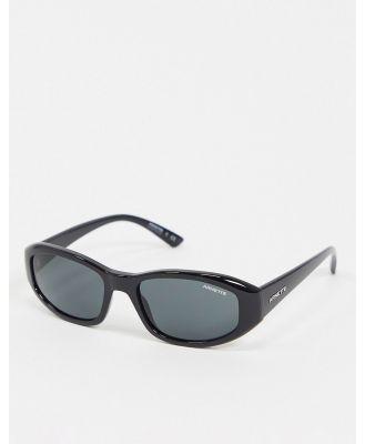 Arnette x Post Malone black square sunglasses