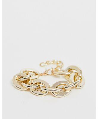 Ashiana chunky gold chain bracelet