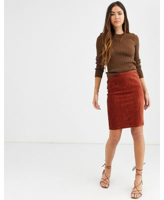 b.Young mini skirt-Copper