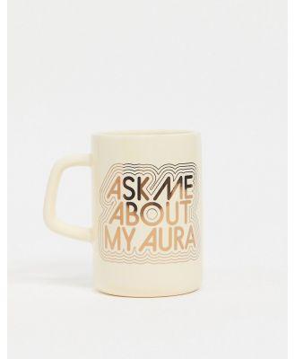 Ban Do large ceramic mug-Cream