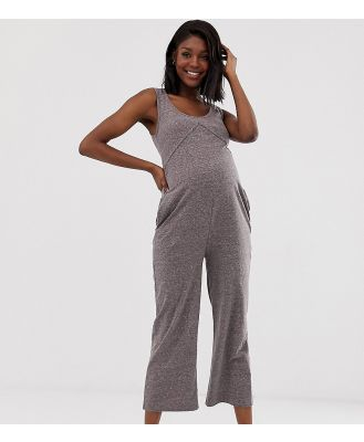 Bandia Maternity jersey all in one-Grey