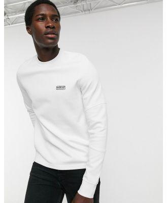 Barbour International Decal sweatshirt in white