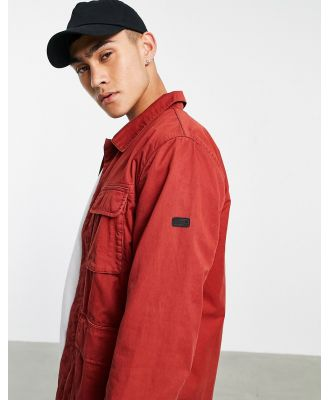 Barbour International Dion casual jacket in red