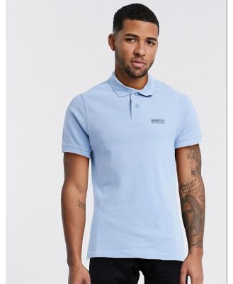 Barbour International essential logo polo in blue