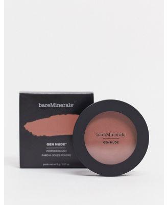 bareMinerals Gen Nude Powder Blush - But First Coffee-Pink