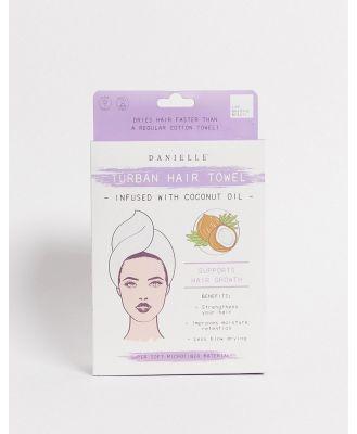 Danielle Creations Coconut Oil Hair Turban-No Colour