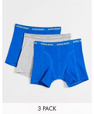 Bjorn Borg 3 pack Underwear-Blue