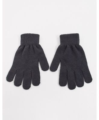 Boardmans recycled gloves-Grey