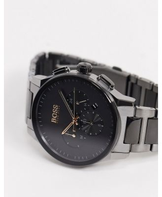 BOSS Chronograph bracelet watch in grey
