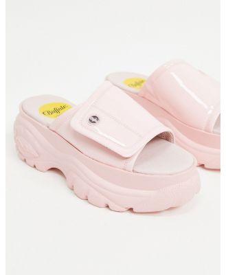 Buffalo London Chunky Mule Sandal-Pink
