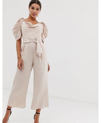 C/Meo Collective through you jumpsuit - Pink