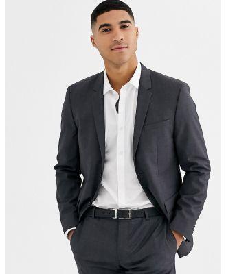 Calvin Klein textured grey suit jacket