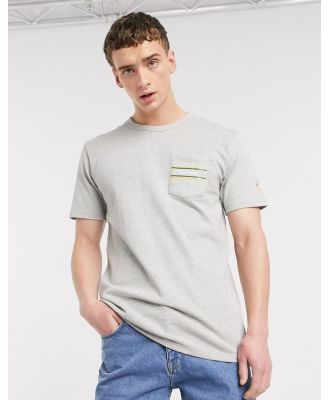 Carrots Rugby pocket t-shirt in grey