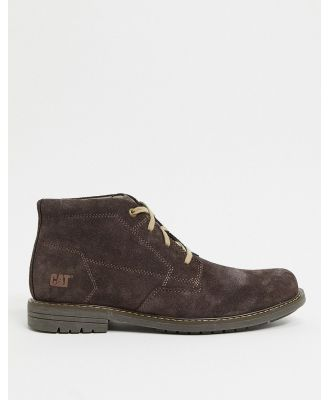 Caterpillar aiden lace up boot in brown