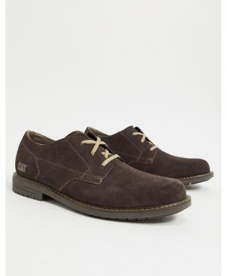 Caterpillar ethan lace up shoe in brown
